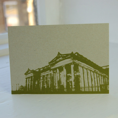 Jacky Al-Samarraie National Gallery of Scotland Green Postcard
