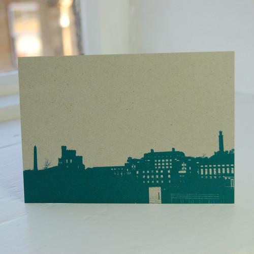 Jacky Al-Samarraie Calton Hill & St. Andrews House Postcard