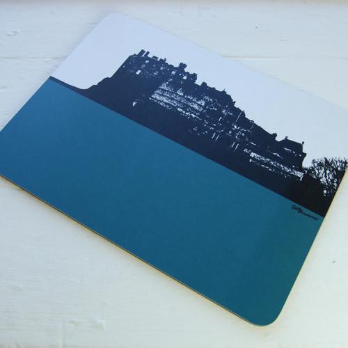 Jacky Al-Samarraie Edinburgh Castle Table Mat