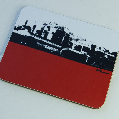 Jacky Al-Samarraie Scottish Parliament Coaster
