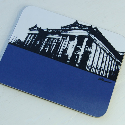 Jacky Al-Samarraie Scottish National Gallery Coaster
