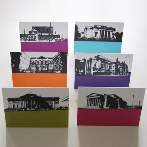 Jacky Al-Samarraie Liverpool Landscapes Greeting Cards - Pack Three