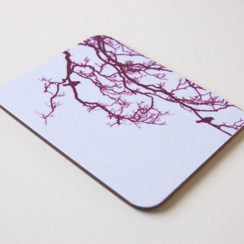 Jacky Al-Samarraie Mulberry Birdsong Coaster