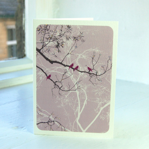 Jacky Al-Samarraie Oriental Lilac Greeting Card