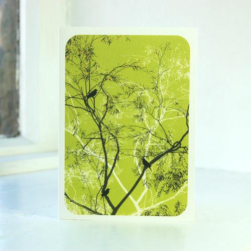 Jacky Al-Samarraie Oriental Lime Greeting Card