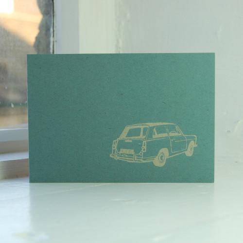 Jacky Al-Samarraie Austin A40 Greeting Card