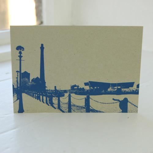 Jacky Al-Samarraie Albert Dock & Museum of Liverpool Life Postcard
