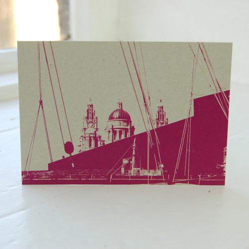 Jacky Al-Samarraie Liver Building Postcard