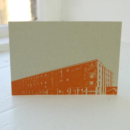 Jacky Al-Samarraie Tate Liverpool Orange Postcard