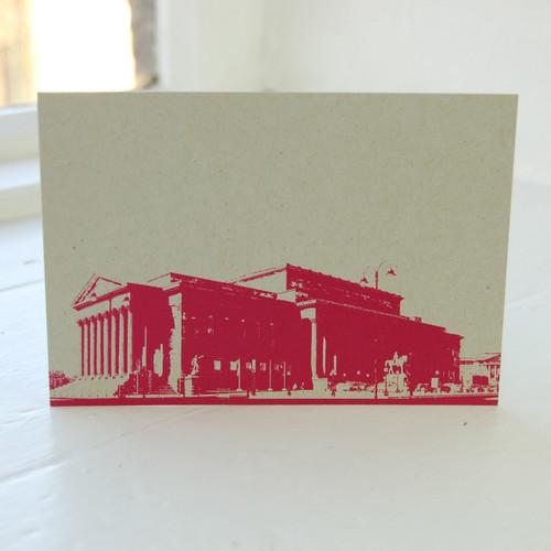 Jacky Al-Samarraie St. Georges Hall Postcard