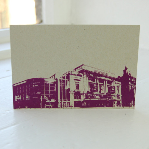 Jacky Al-Samarraie Empire Theatre Postcard