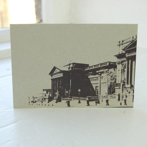 Jacky Al-Samarraie Walker Art Gallery Postcard