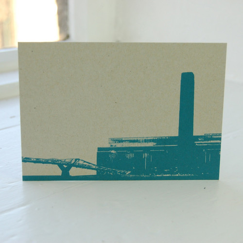 Jacky Al-Samarraie Tate Modern Postcard