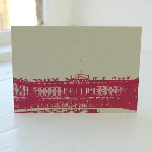 Jacky Al-Samarraie Somerset House Postcard