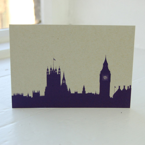 Jacky Al-Samarraie Houses of Parliament Postcard