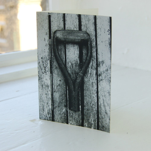 Jacky Al-Samarraie Spade Handle Greeting Card
