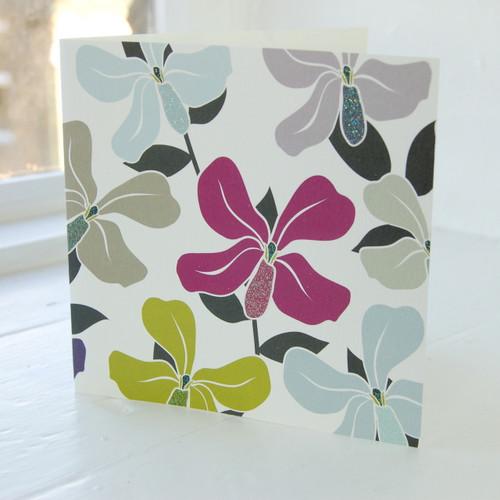 Jacky Al-Samarraie Honesty Flower Greeting Card