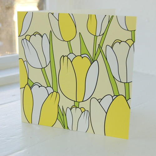 Jacky Al-Samarraie Tulip Greeting Card
