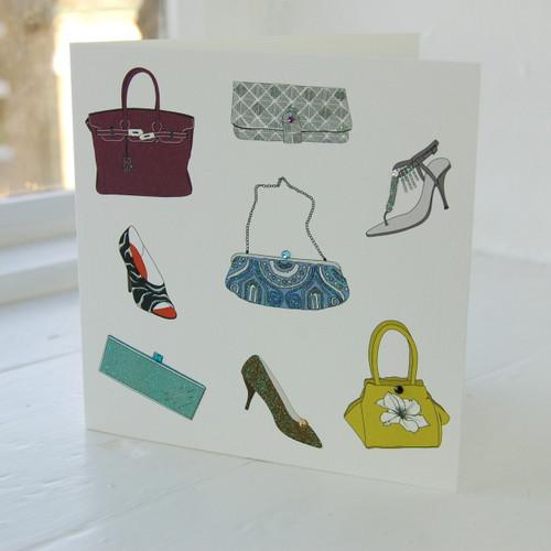 Jacky Al-Samarraie Handbag & Shoe Greeting Card