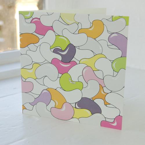 Jacky Al-Samarraie Jelly Bean Greeting Card