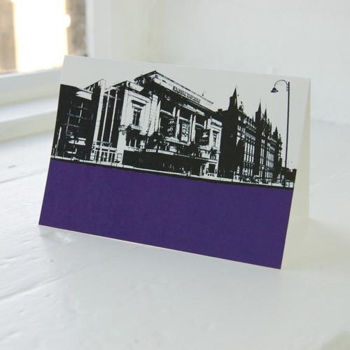 Jacky Al-Samarraie Empire Theatre Greeting Card