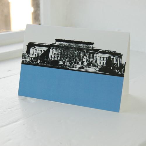 Jacky Al-Samarraie St. Georges Hall Greeting Card