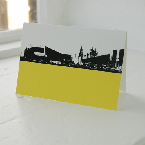 Jacky Al-Samarraie Museum of Liverpool Life Greeting Card