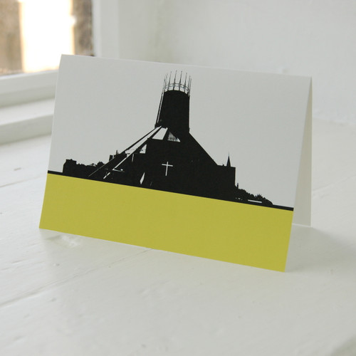 Jacky Al-Samarraie Metropolitan Greeting Card