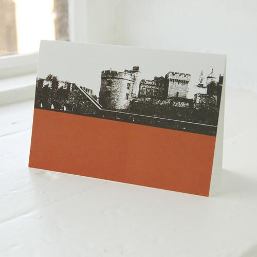 Jacky Al-Samarraie Tower of London Greeting Card