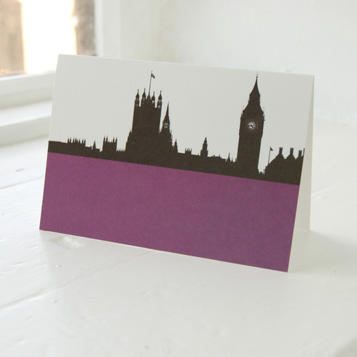 Jacky Al-Samarraie Houses of Parliament Greeting Card