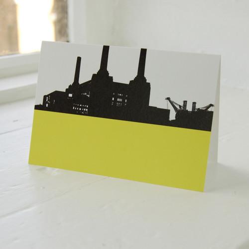 Jacky Al-Samarraie Battersea Power Station Greeting Card