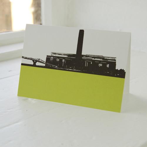 Jacky Al-Samarraie Tate Modern Greeting Card