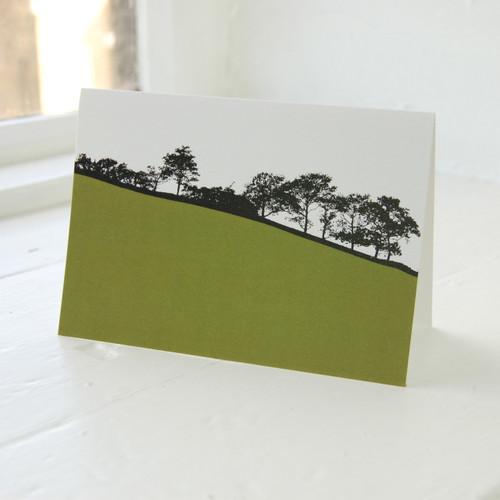 Jacky Al-Samarraie Troutbeck Green Greeting Card