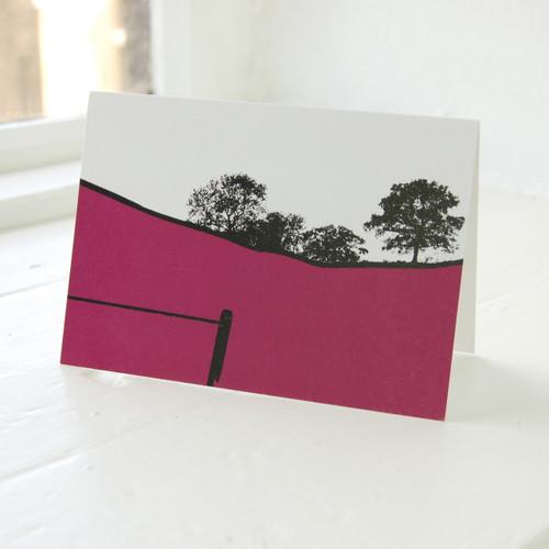 Jacky Al-Samarraie Troutbeck Greeting Card