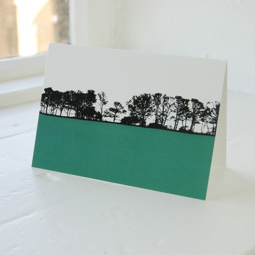 Jacky Al-Samarraie Denby Dale - Flockton Greeting Card