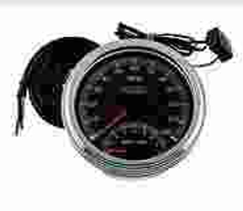 Flatside Tank Speedo and Tach Pkg. - Cable driven electronic