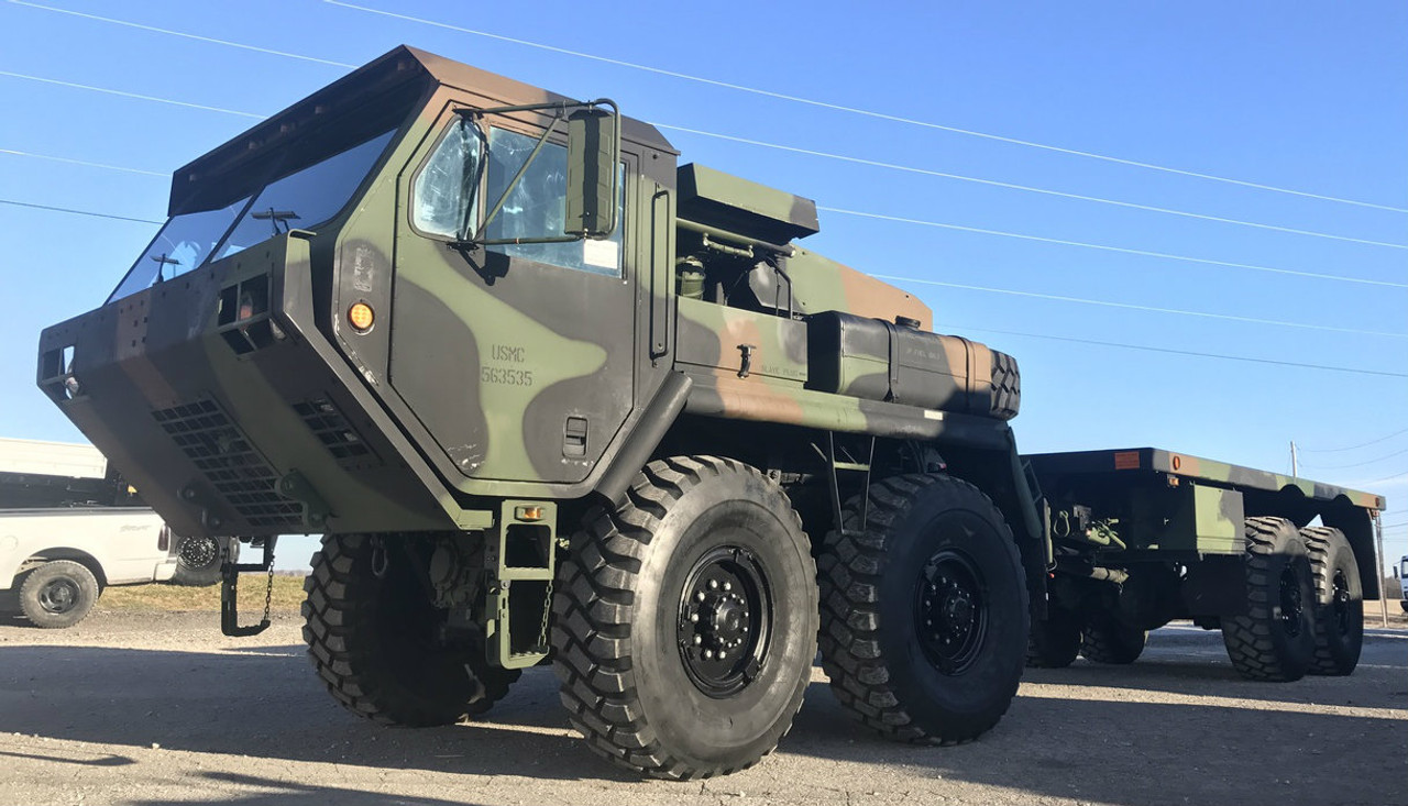 2010 rebuild oshkosh mk48 lvs 8x8 cargo truck midwest military equipment. Black Bedroom Furniture Sets. Home Design Ideas