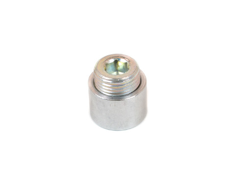 20-884A Aluminum Fitting 1/2 Inch NPT Bung With Plug Welding Required