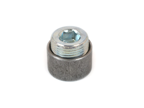 20-888 Steel Fitting 1 Inch NPT Bung With Plug Welding Required