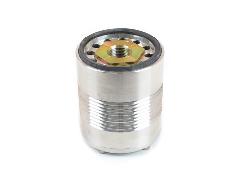 "25-184 CM Oil Filter 3.4"" Billet Aluminum Spin-On 20mm 2 5/8"" O-Ring"