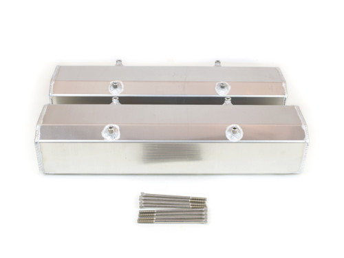 65-200 Valve Covers For Small Block Chevy Fabricated Aluminum With Hardware