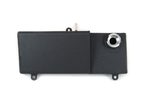 80-232BLK Aluminum Expansion Coolant Tank For 1996-2004 Mustang Black