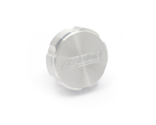 81-247 Aluminum Coolant Cap Billet Scalloped Style Mustang 2015 and Newer