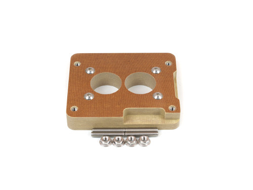 """85-050 Phenolic Carburetor Adapter For Holley 2BBL And GM 2BBL 1"""""""