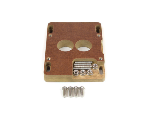 """85-060 Phenolic Carburetor Adapter For Holley 2BBL And Holley 4BBL 1"""""""