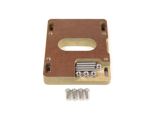 """85-060S Phenolic Carburetor Adapter For Holley 2BBL And 4BBL Open 1"""""""
