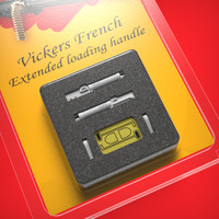 Vickers French extended loading handle 1/48