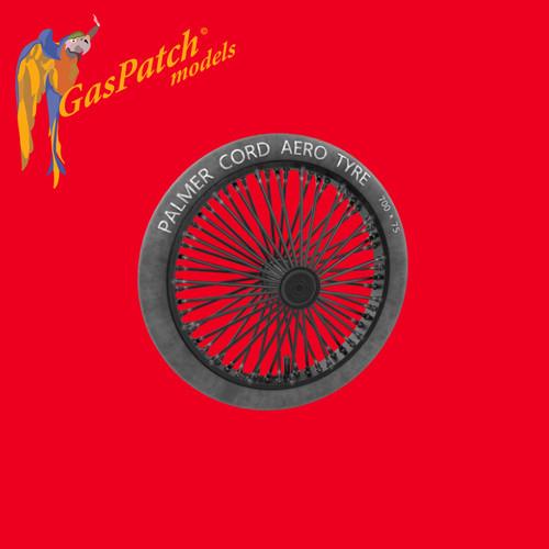 Palmer 700x75 Spoked Wheels 1/32