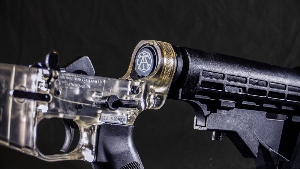 Clear Ar Lower Tennessee Arms Ghost Gun