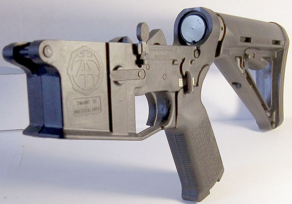 Tenn Arms Company complete AR black lower receiver with black Magpul Equipment $239 Lifetime Guarantee Lightweight Free Shipping